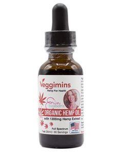 Erin Elizabeth's Organic CBD Hemp Oil with Hemp Extract - 1200 mg