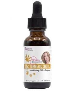 Erin Elizabeth's Turmeric Enhanced CBD Extract + Terpenes - 600 mg