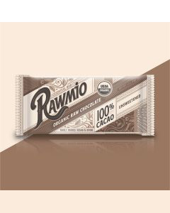 Rawmio Essentials Bar Dark Chocolate - 100% Cacao - 1.1 oz