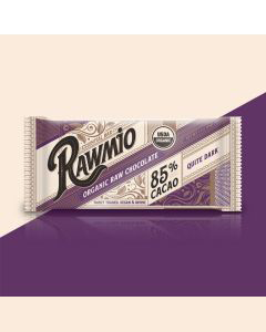Rawmio Essentials Bar Dark Chocolate - 85% Cacao - 1.1 oz